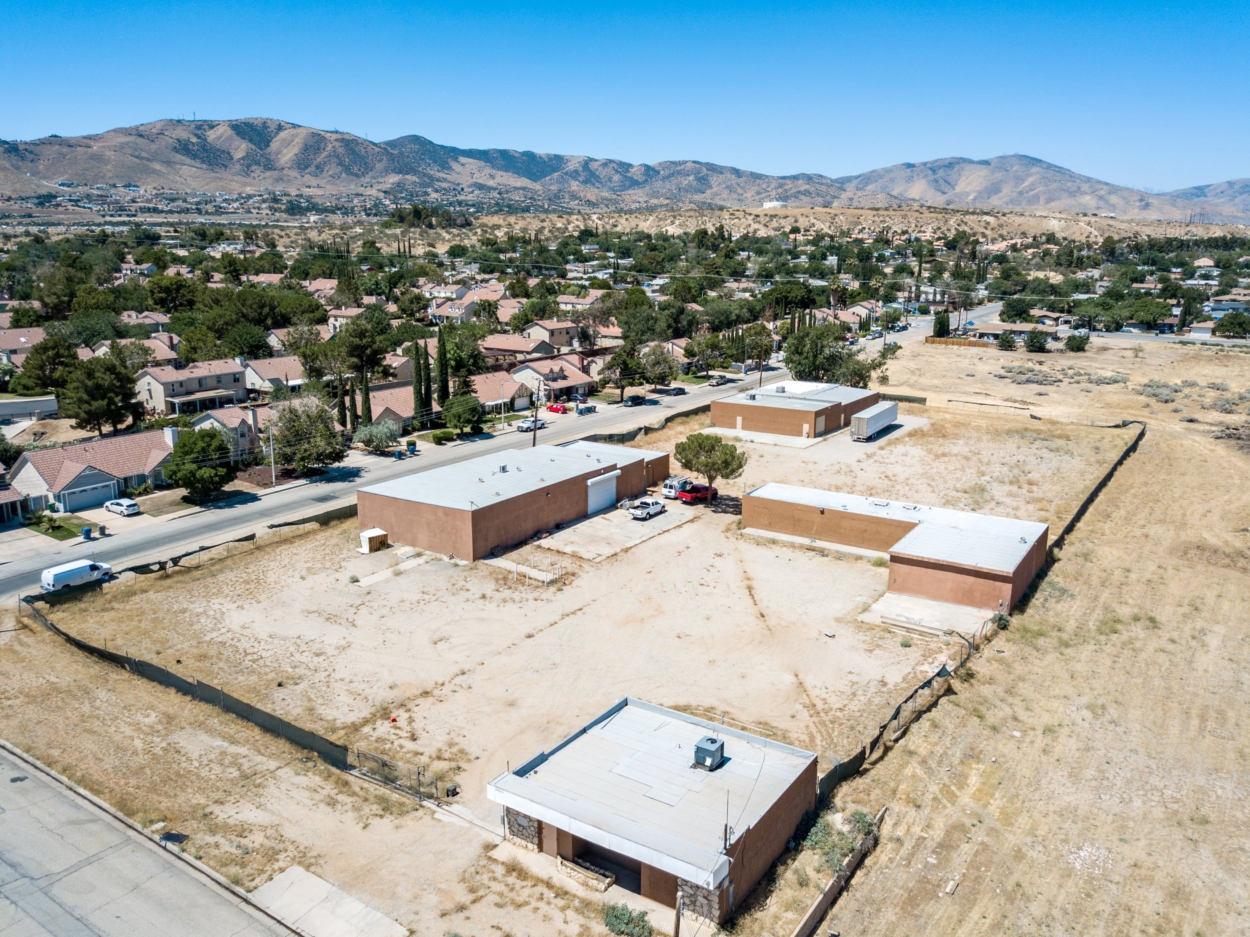 Palmdale Industrial Real Estate Front