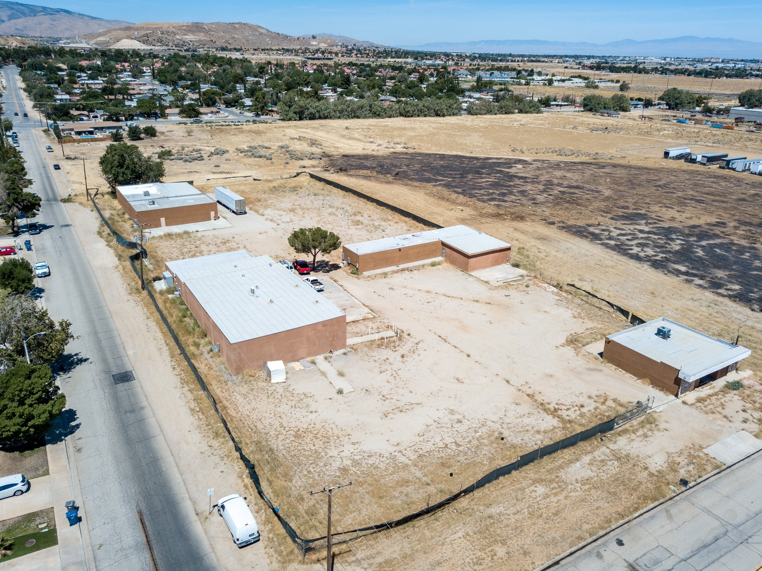 Palmdale Industrial Real Estate Front Left