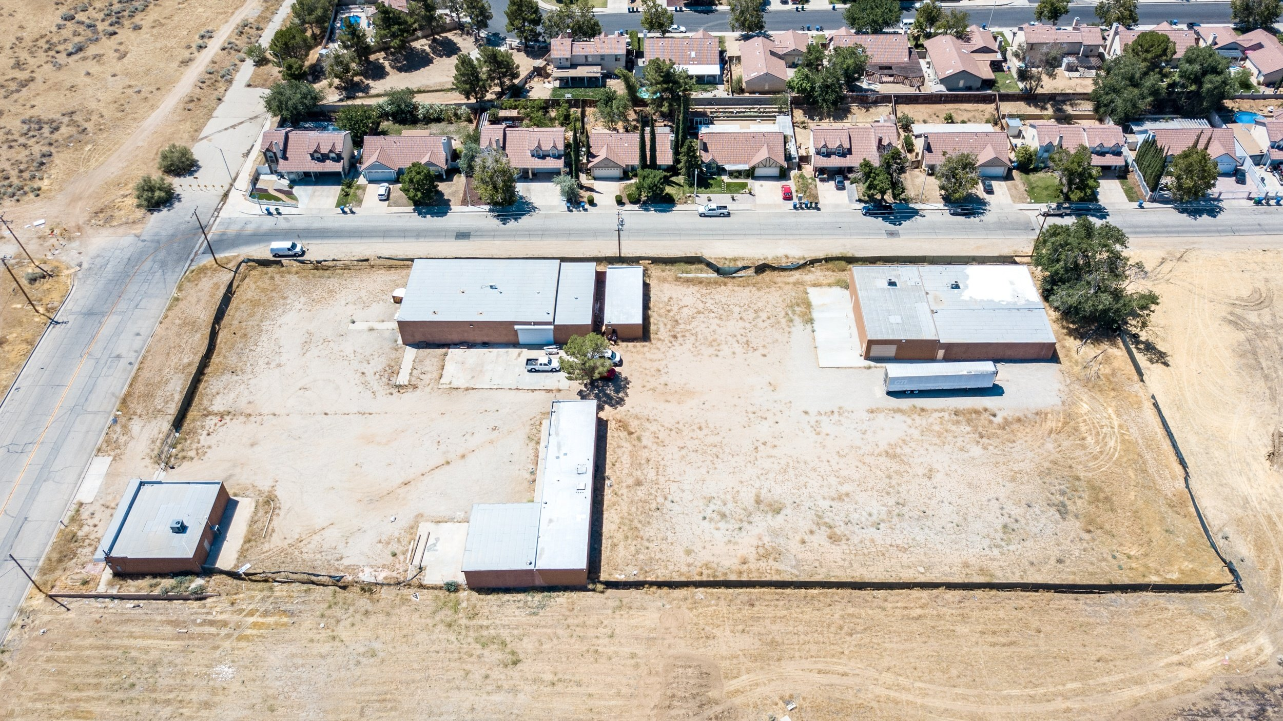 Palmdale Industrial Real Estate Side