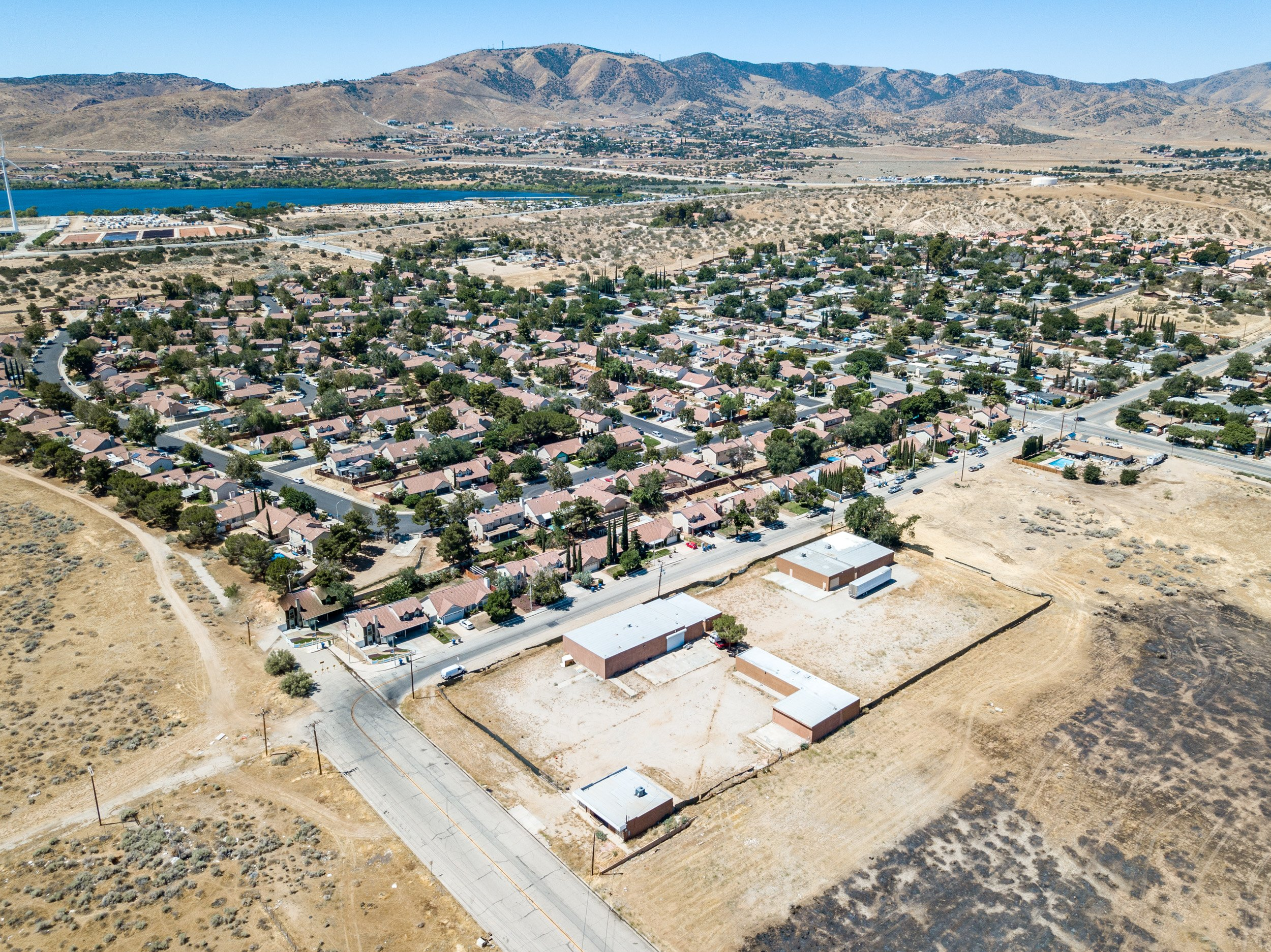 Palmdale Industrial Real Estate Drone One