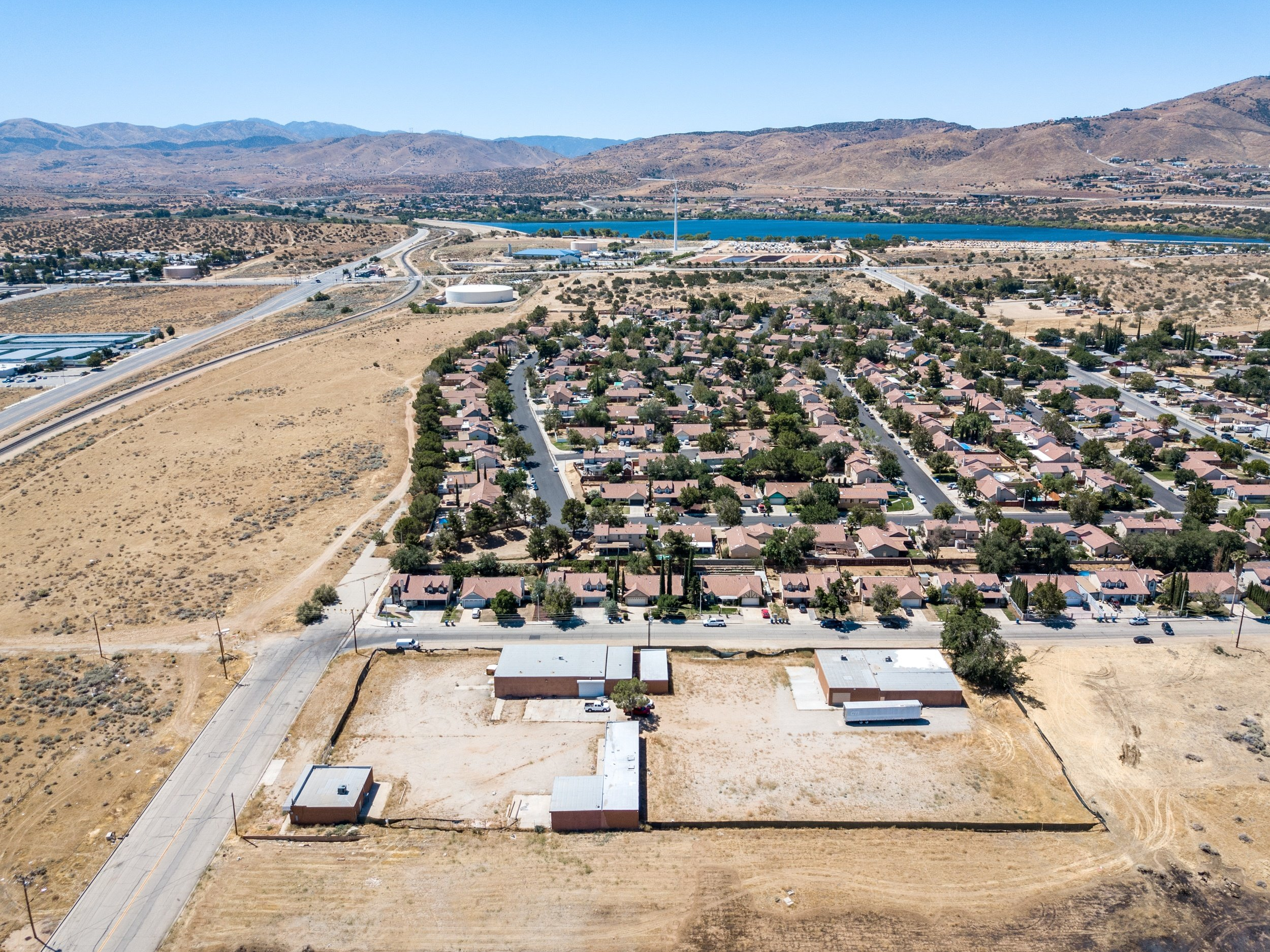 Palmdale Industrial Real Estate Building Four Drone Two
