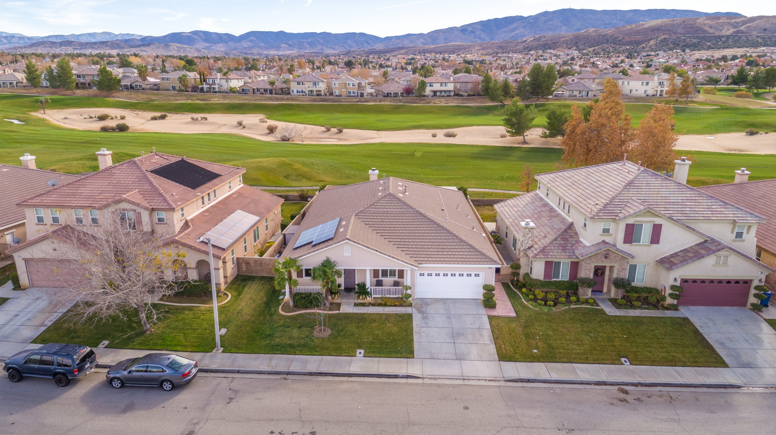 3364 Tournament Drive Palmdale CA 93551 Front Drone