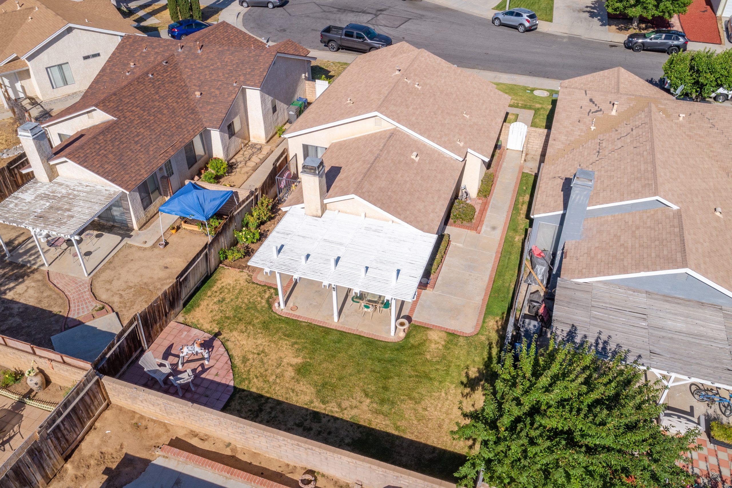 Palmdale CA Real Estate 37128 Marye Margo Circle Palmdale Rear Drone