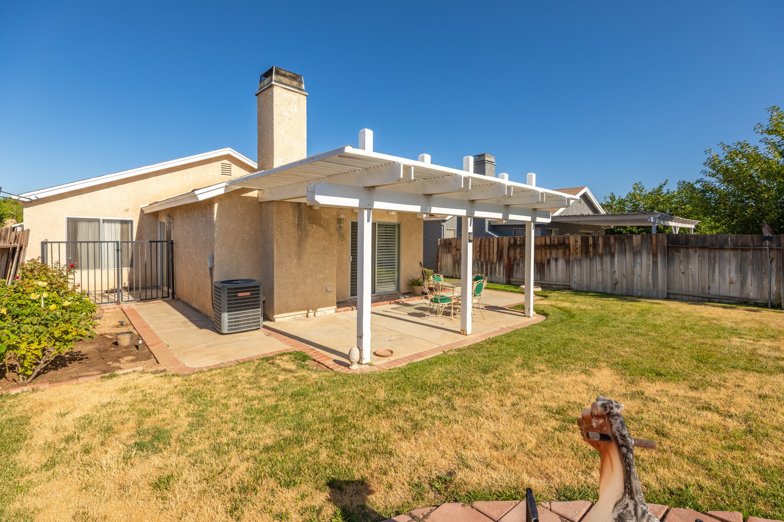 Palmdale CA Real Estate 37128 Marye Margo Circle Palmdale Rear Yard Two